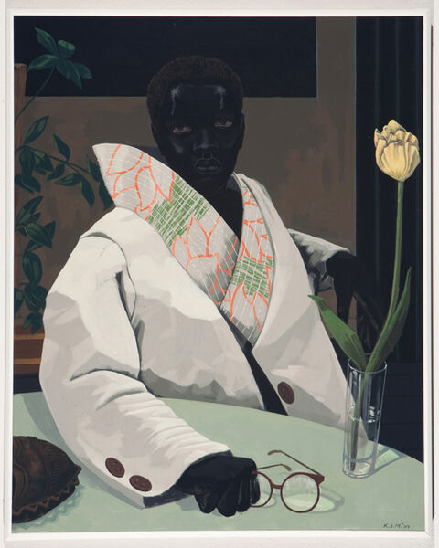 Kerry James Marshall, 'Portrait of a Curator (In Memory of Beryl Wright)', 2009