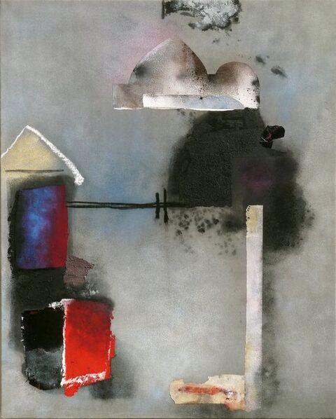 Giuseppe Santomaso, 'Ricordo di viaggio', 1985