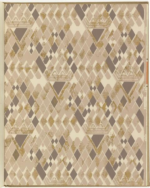 Frank Lloyd Wright, 'Taliesin Line of Decorative Wallpapers', 1956