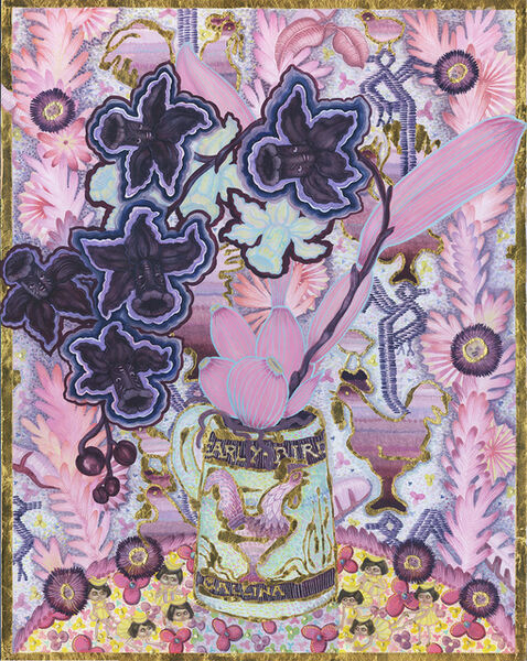 Larissa Bates, 'Early Bird Gallina after the Saturday Evening Girls: Proselytizing Progressivist with Disney Narcissus-Orchid Hybrid, ', 2016