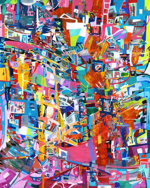 Karen Kirshner, 'Razzle Dazzle (Copyright, all rights reserved, 2018)', 2017