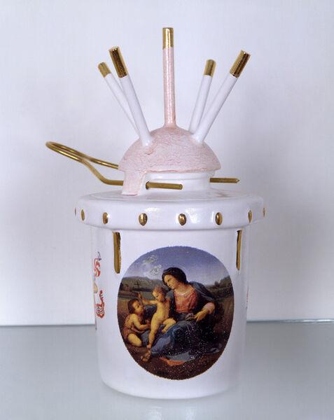 Conrad Atkinson, 'Landmine (Madonna and Child with John the Baptist)', 1996