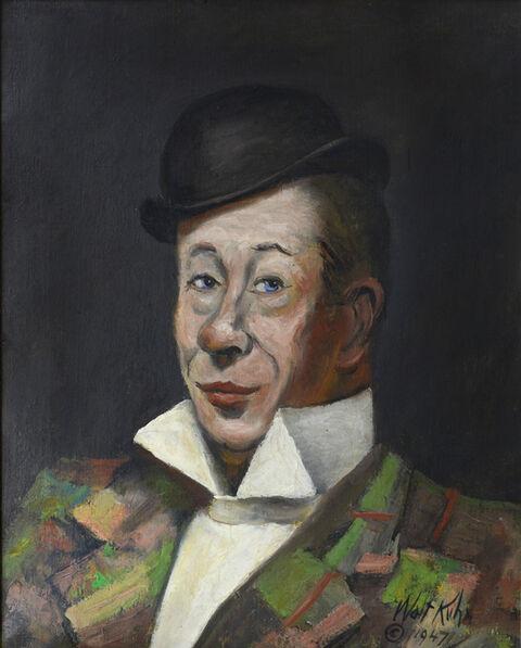 Walt Kuhn, 'Portrait of Bert Lahr ', 1947