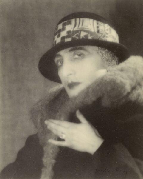 Man Ray, '[Rrose Sélavy (Marcel Duchamp)]', 1923