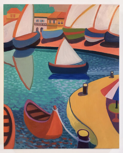 Daniel Heidkamp, 'Sails in Ciotat', 2020