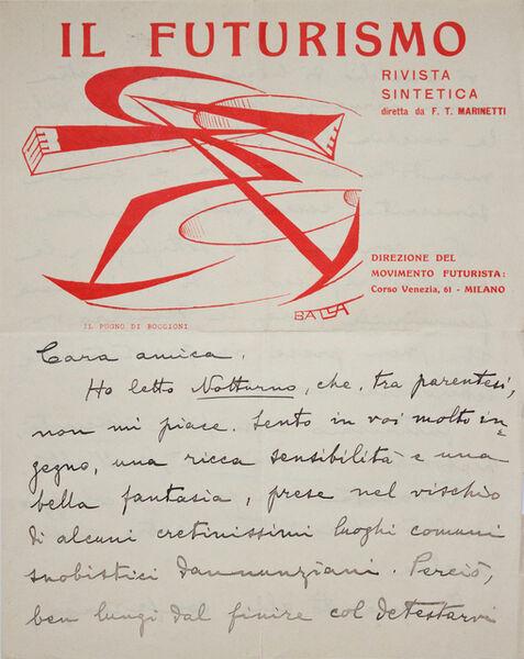 Giacomo Balla, 'Il Futurismo (1)', 1915-1923