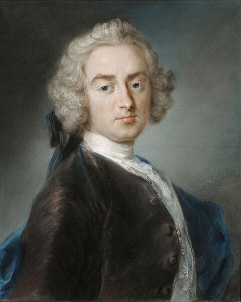 Rosalba Carriera, 'Sir James Gray, 2nd Bt.', 1744-1745