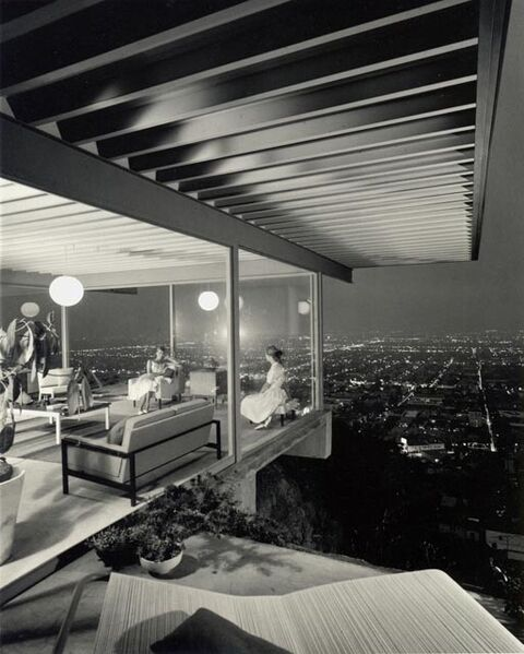 Julius Shulman, 'Case Study House #22 (Two Girls), Los Angeles, CA', 1960