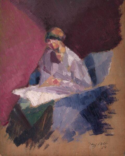 Jacques Villon, 'La femme blessée (Yvonne Duchamp)', 1914