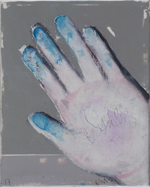 Alexander Tinei, 'Andy's hand ', 2017