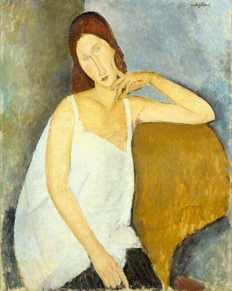 Amedeo Modigliani, 'Jeanne Hébuterne', 1919