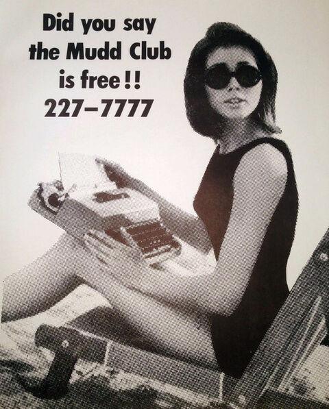 Fernando Natalici, 'The Mudd Club, original 1979 street poster (Haring Basquiat related)', 1979