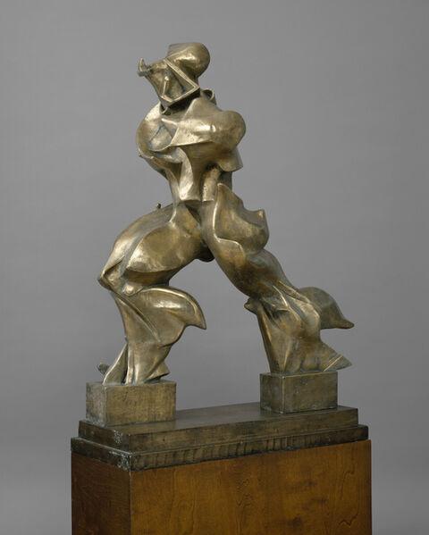 Umberto Boccioni, 'Unique Forms of Continuity in Space (Forme uniche della continuità nello spazio)', 1913 (cast 1949)