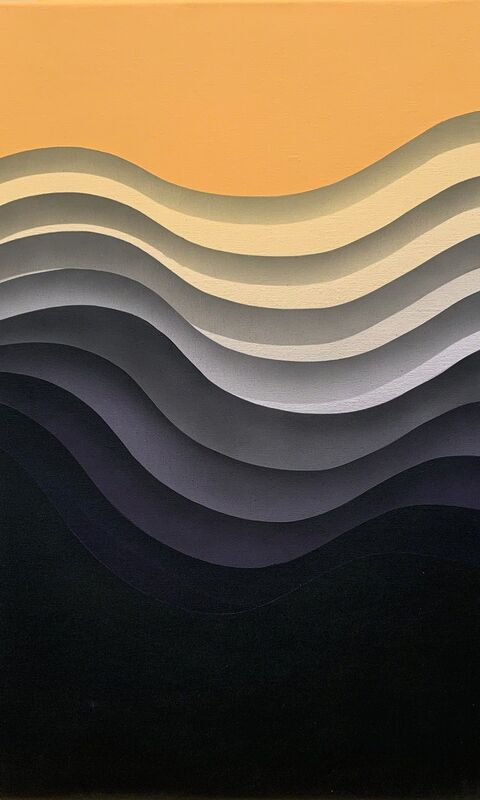 1010, 'Flow 9', 2018, Painting, Acrylic on canvas, Hashimoto Contemporary