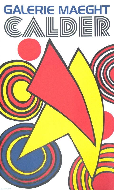 Alexander Calder, 'Triangles Et Spirales', 1973, Ephemera or Merchandise, Stone Lithograph, ArtWise