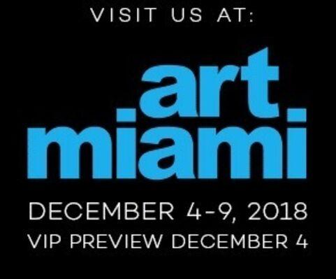 Nikola Rukaj Gallery at Art Miami 2018, installation view