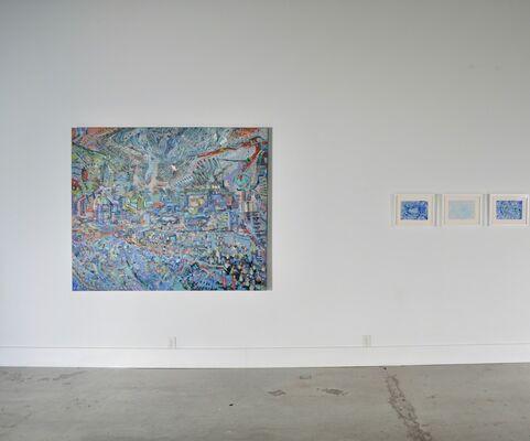 James Yakimicki: Paintings & Drawings, installation view