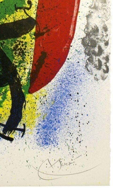 Joan Miró, 'Le Homard', 1970, Print, Original lithograph on wove paper, Samhart Gallery