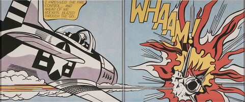 Roy Lichtenstein, 'Whaam!', 1967