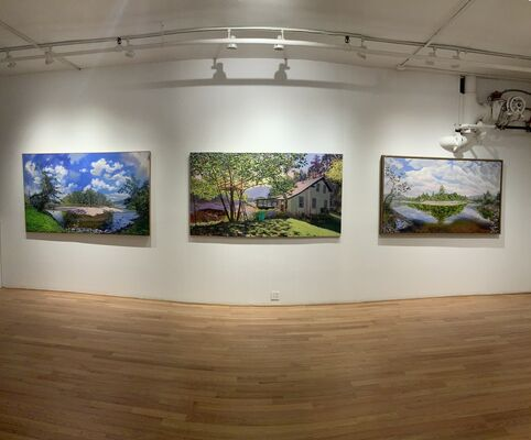 Kim Van Do   ____    Light and Air of Summer, installation view