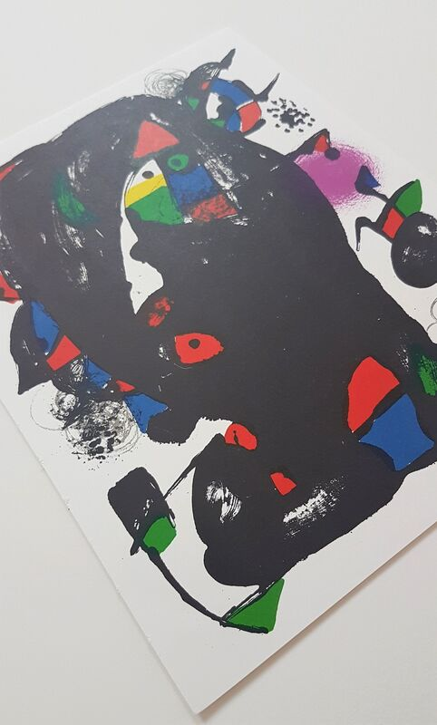 Joan Miró, 'Lithographie Originale IV', 1981, Print, Color Lithograph, Cerbera Gallery