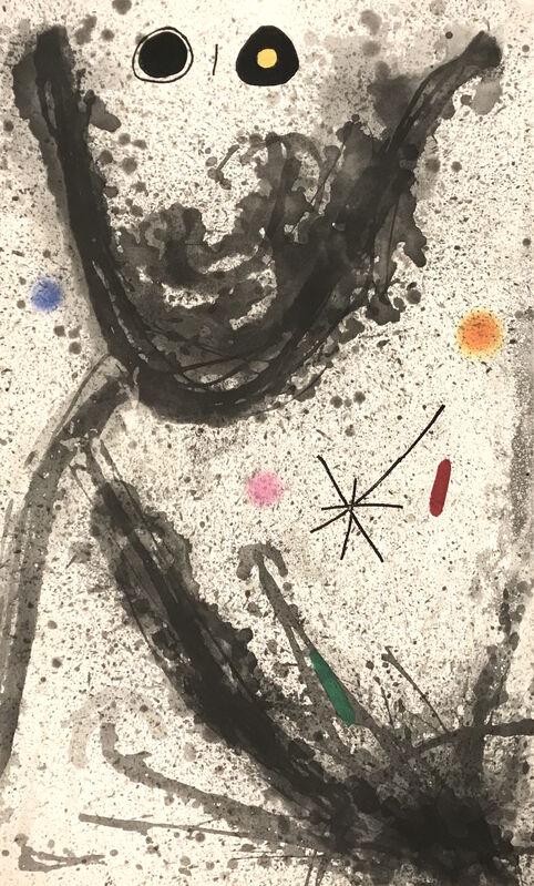 Joan Miró, 'Le Pulsatier', 1969, Print, Etching, aquatint, and carborundum, Georgetown Frame Shoppe