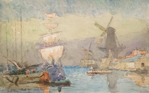 Albert Lebourg, 'Rotterdam', 1897