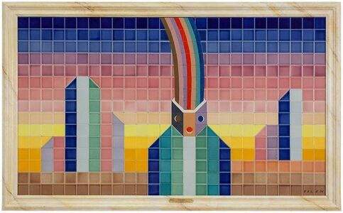 Jean Michel Folon, 'Arc en Ciel', Late 20th Century