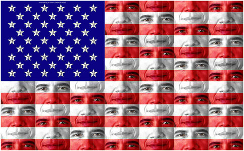 Florence Weisz, 'Obamart: Flag', 2016