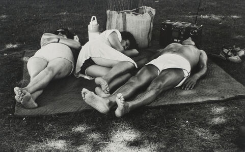 Larry Silver, 'Sleepers', ca. 1954