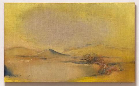 Leiko Ikemura, 'Yellow Scape', 2019
