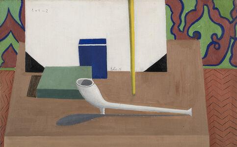 "Atanasio Soldati, '""Still Life (Still Life with Pipe)""', 1940s"