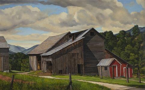 Luigi Lucioni, 'The Weathered Barn', 1947