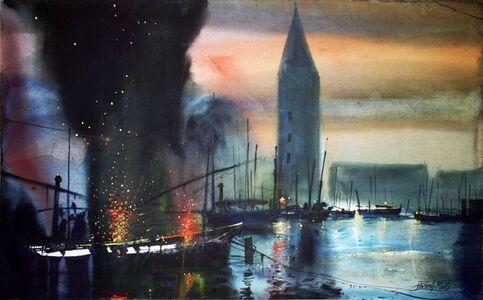 Paresh Maity, 'San Marco', 2001