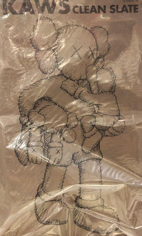 KAWS, 'KAWS Brown Companions: set of 4 works (brown KAWS Companion set)', 2016-2019, Sculpture, Painted Vinyl, Cast Resin, Lot 180