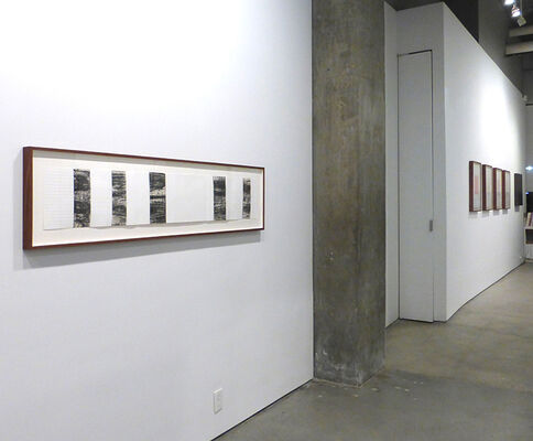 Drawing Through: France & Poland, installation view