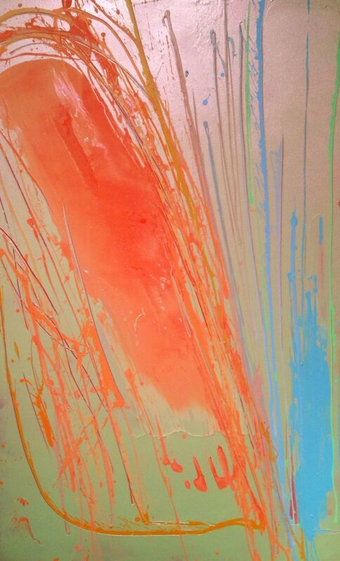 Dan Christensen, 'Kula Sunrise', 1983, Painting, Acrylic on canvas, SPONDER GALLERY