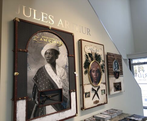 Rich in Black History, installation view