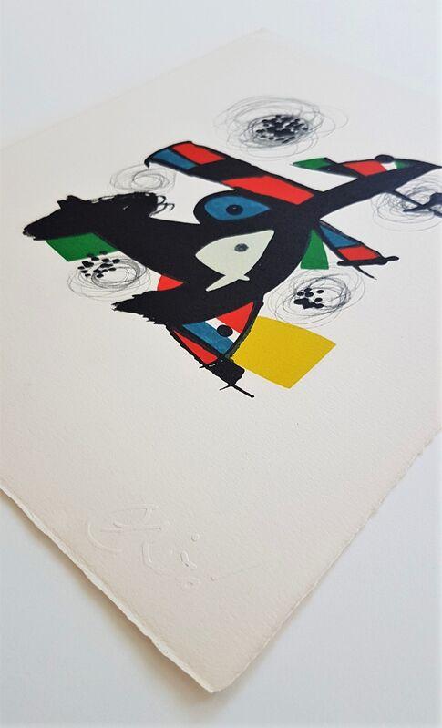 Joan Miró, 'La Mélodie Acide - 5', 1980, Print, Color lithograph, Cerbera Gallery