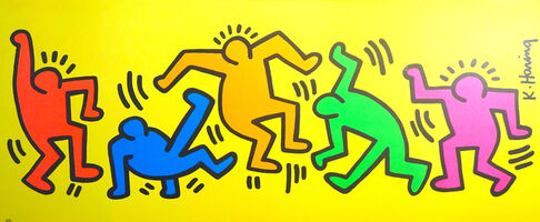 Keith Haring, 'Figures', Not dated