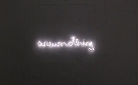 Carola Dertnig, '...a new nothing...', 2020