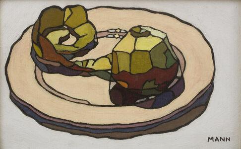 Cyril Mann, 'Peeled Apple', ca. 1955