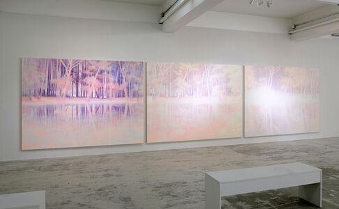 Daniele Genadry, 'Purple Glade, White Clearing, Pink Gleam', 2018