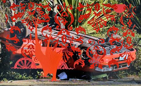 Carol Jackson, 'Satan's Cue Card 3', 2014