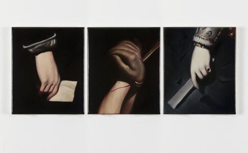 Ken Currie, 'Hand Study After Velazquez I, II & III, ', 2018