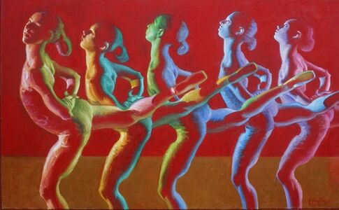 John Asaro, 'Dance of 10 Hues', 2020