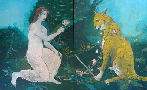 Franz Roth, 'Das Distelherz / Le cœur de chardon', 2015