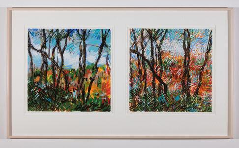 Jennifer Losch Bartlett, 'October, Connecticut', 1997