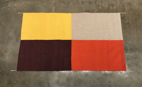 Emi Winter, 'Four Color Rug', 2020
