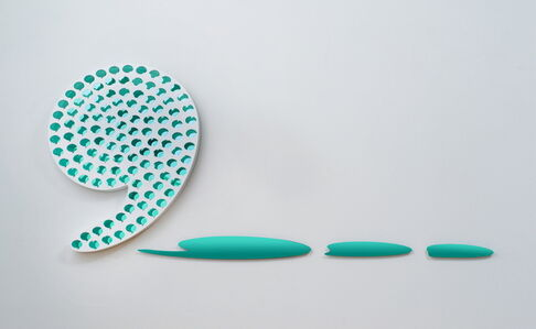 Hyoungsun Chang, 'Whew(Green Rest)', 2017